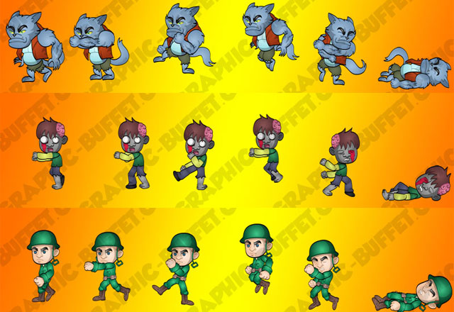 Game Graphic Characters