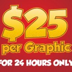 Crazy Spot Sale! Any Game Graphic Only $25