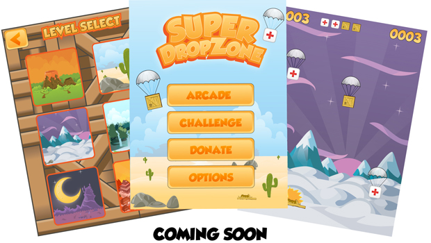 Indie Game - Super Drop Zone
