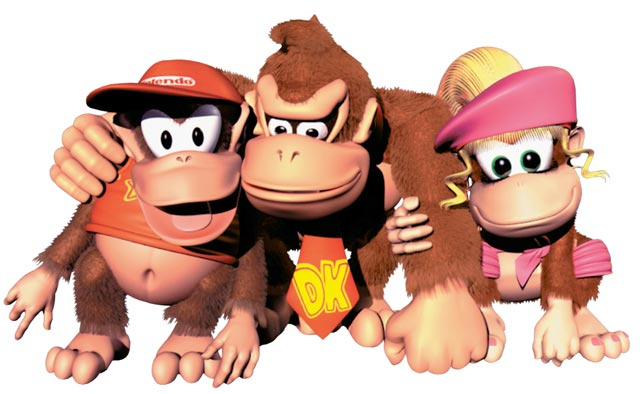 Donkey Kong Video Game Characters Blog Post