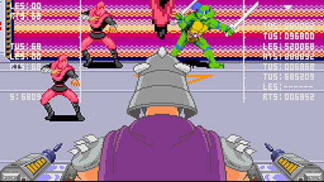 Beat em up - Teenage Mutant Ninja Turtles