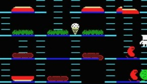 Burger Time Retro Video Game