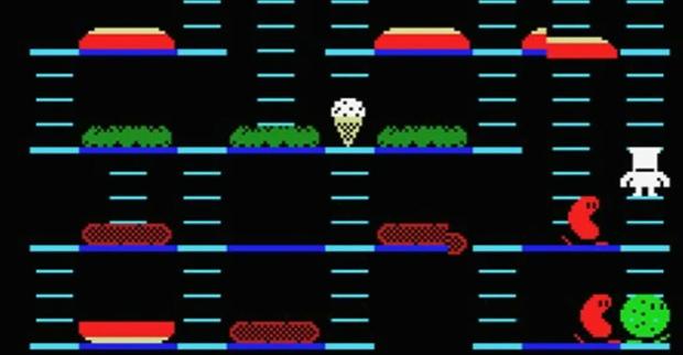 Burger Time Retro Video Game