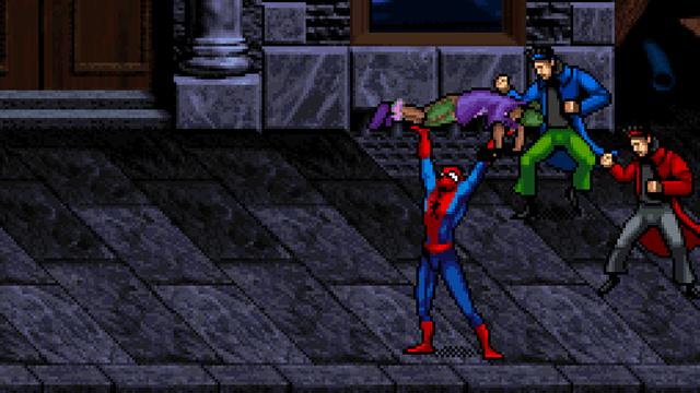 Beat em up - Spiderman