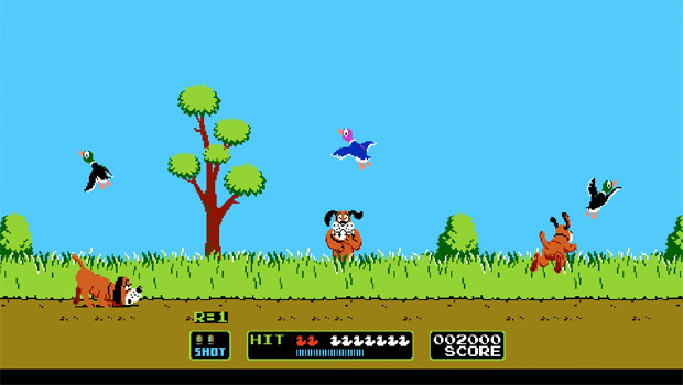 Retro Games - Duck Hunt