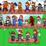 mario 150x150 Retro Gaming Party