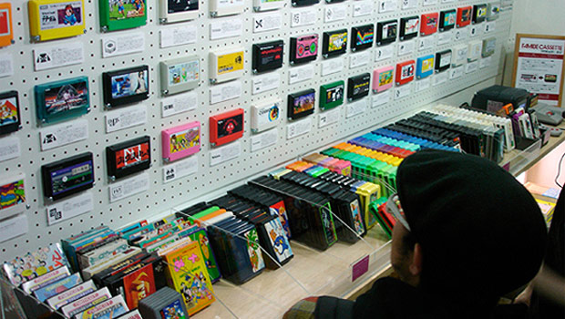 Retro gaming collection