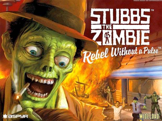 Stubbs the Zombie Video Game Screen
