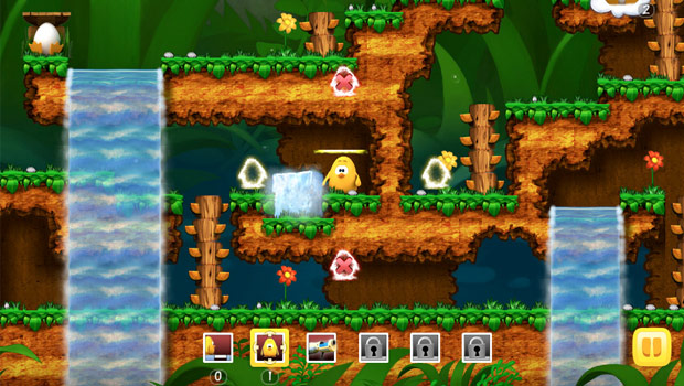 Toki Tori Game Screen