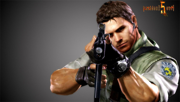 Sexy Gaming Men Chris Redfield