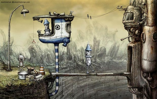 Machinarium-steampunk
