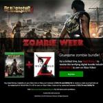 Xbox Celebrates Zombie Week…