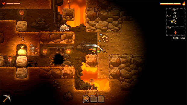 SteamWorld-Dig-Surface-Mine