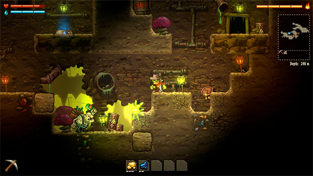 SteamWorld-Dig-Surface-UnderWorld