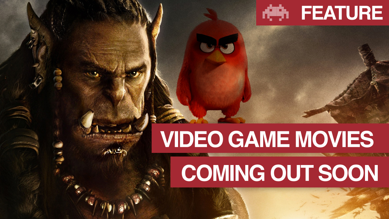 Video Game Movies Coming Out Soon | Gaming Movies 2016