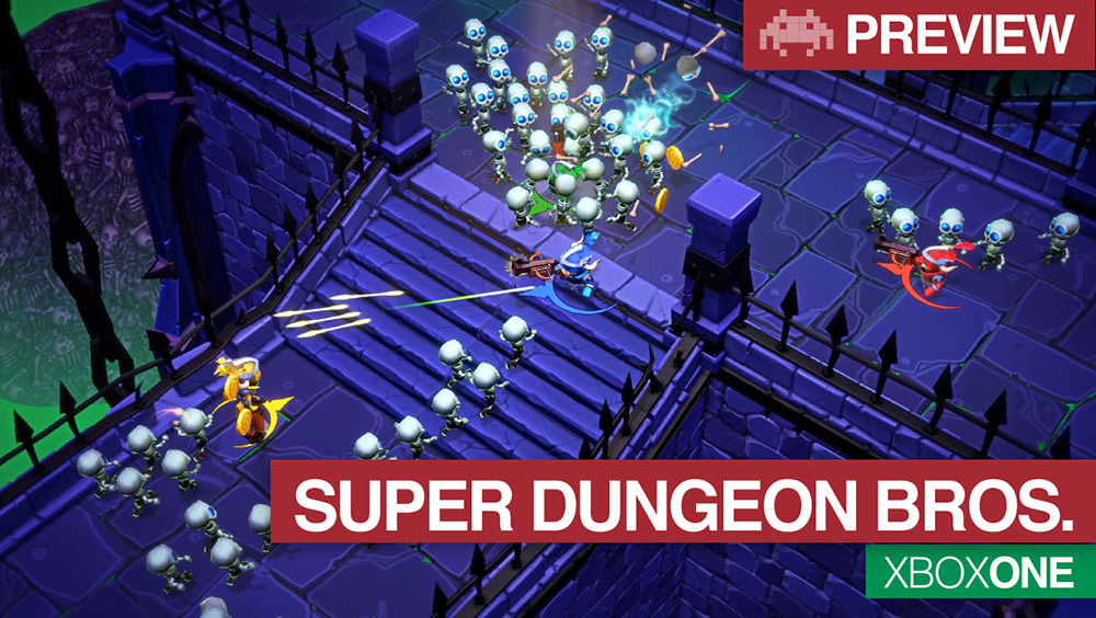 Preview super dungeon bros launch trailer xbox one
