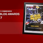 Gaming Debugged: Highly Commended at the UK Blog Awards