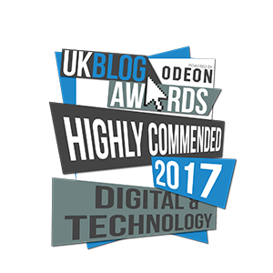 UK Blog Awards - Highly Commended