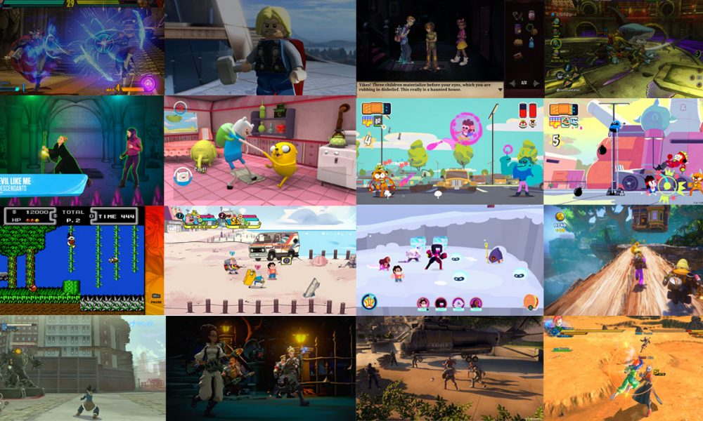 Licensed Games For Children On The Xbox One Kids Games On Xbox One
