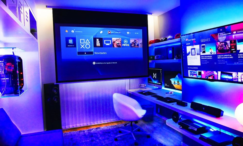 how to level up your gaming setup for xbox gaming rooms. Black Bedroom Furniture Sets. Home Design Ideas