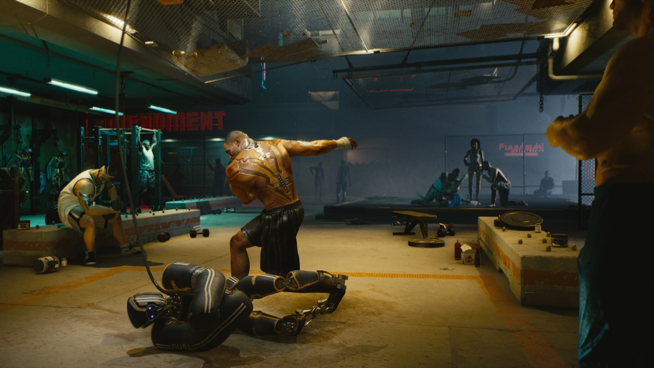 Cyberpunk 2077-mini-games-boxing