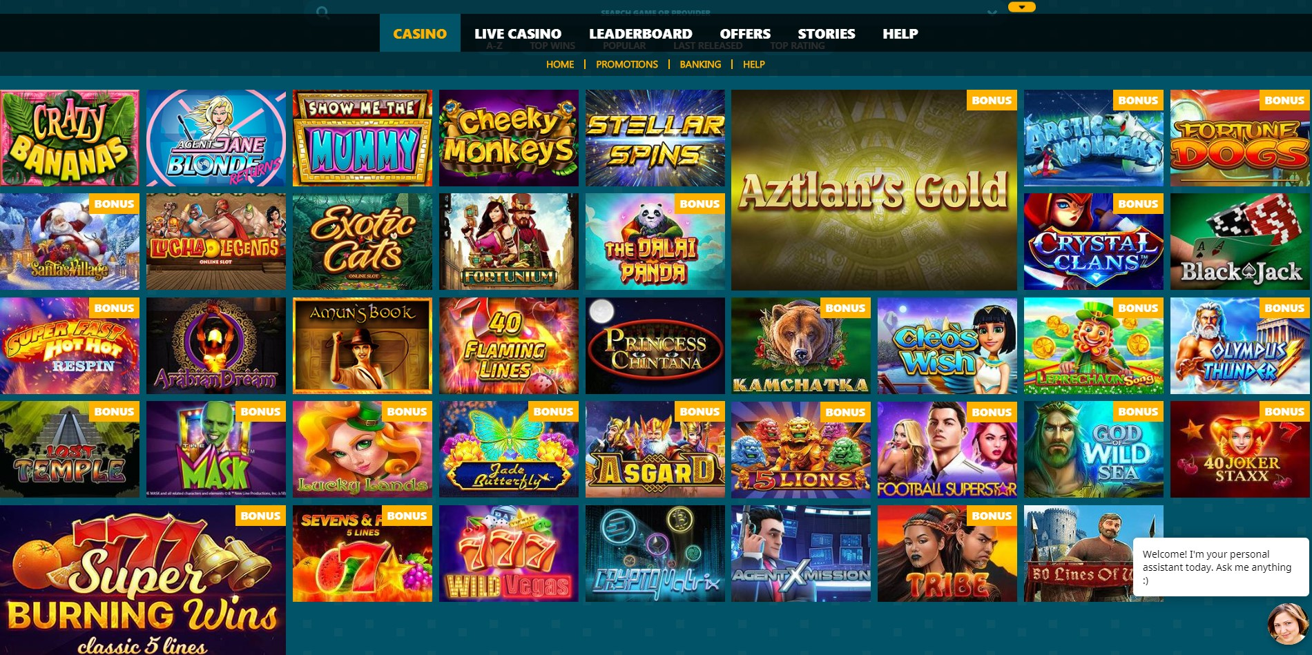 casino-games-selection