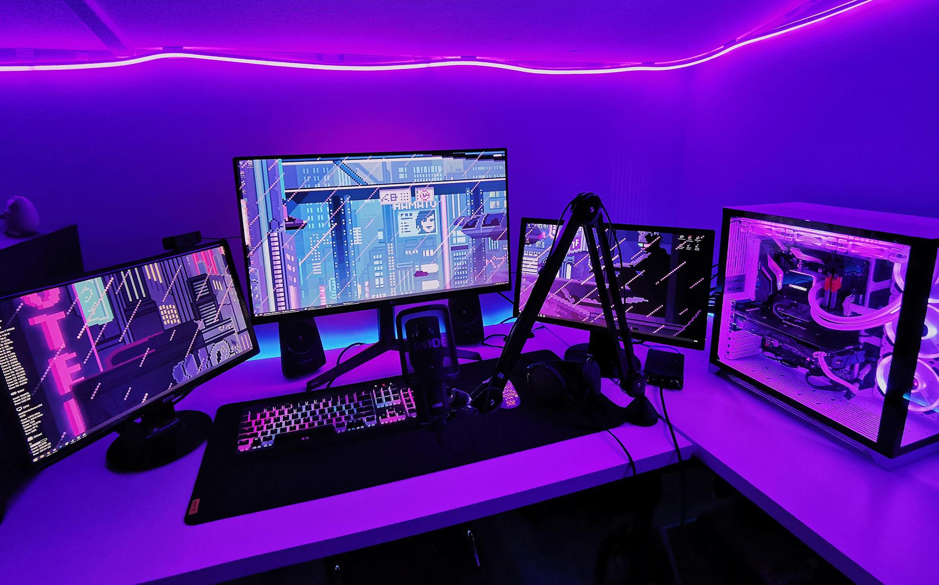 purple-gaming-set-up-1